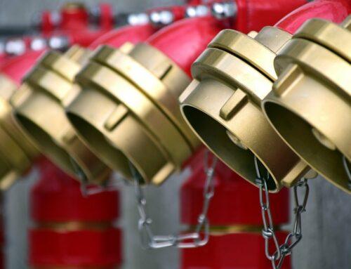 Projektstöd vid byggnation av nya brandskyddssystem